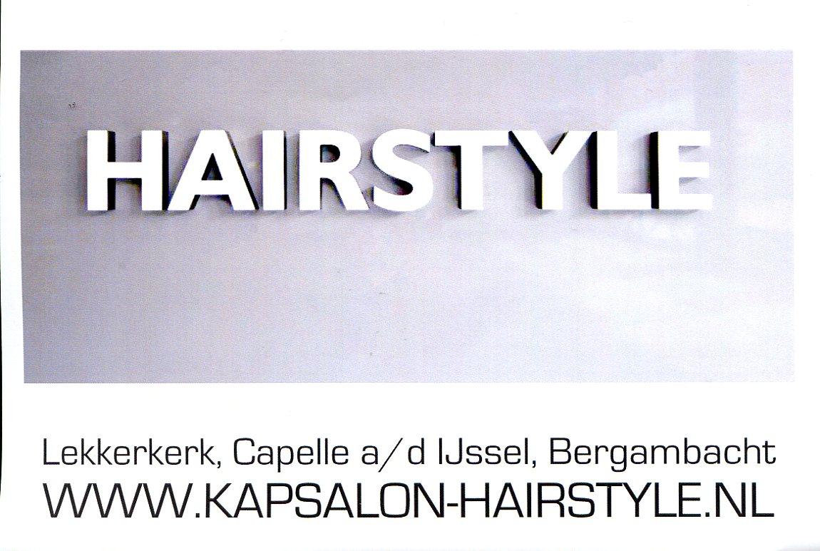 Hairstyle kapsalon