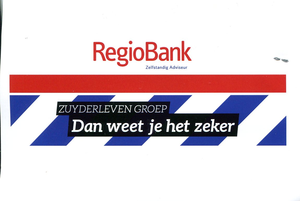 Regiobank - Zuyderlevengroep